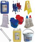 Janitorial Supplies Cleaning Buckets Mops Brooms Bleach Disinfectant Wipes ETC