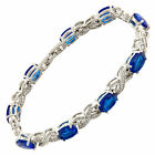 New Arrival Wedding Jparty Ewelry 18K White Gold Plated Tennis Bracelet