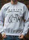 Imagine John Lennon Jumper Men Women Hoody The Beatles Rock Hoodie Gift R0153