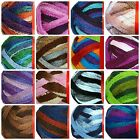 Feza's ALLORA Fishnet Ruffled Scarf Yarn ~ HIGH QUALITY ~ Your Choice Of Color!