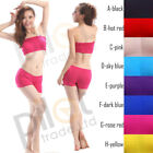 Belly Dance Yoga Costumes Elastic Backing Padded Bra Top  Shorts Pants