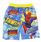 Spider-Man Boys Blue & Multi Color Swim Short Size 4 5 6 7