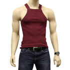 G UNIT Square Cut Ribbed Tank Top Undershirt Underwear Wife Beater Mens Cotton