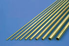 K & S Round Brass Tube Pk2 (Various Diameters Available)