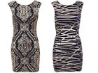 New Womens Christmas Sexy Party Club Sequin Embellished Bodycon Fitted Dress