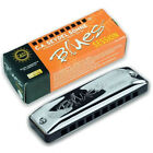 Seydel Session COUNTRY TUNED Harmonica w  Black Leather Case! - Pick Your Key!