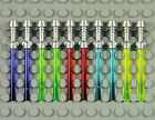 LEGO Star Wars - Lightsabers w/ Metallic Hilt - PICK YOUR COLORS Weapon Army Lot