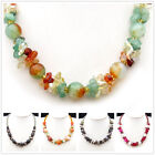 1pc Aventurine Glaze Crystal Colored Agate Fashionable Necklace XM361