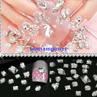 100PCS Clear flat back acrylic rhinestones 3d nail art cell phone decoration new