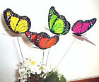 For Christmas Holiday Weeding Home Decor 12cm Colorful 3D Artificial Butterflies