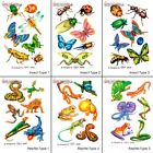 BUGS or LIZARDS RUB ON TRANSFERS ~ Birthday Party Supplies Favors Create Set