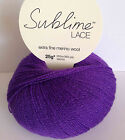Sublime Extra Fine Merino Lace RRP £5.95 OUR PRICE £4.95 Eight colours