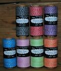 Pick your color -  410 ft. Baker's Twine / Cord - 100% cotton - Acid Free