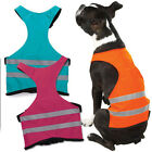 SAFETY VEST For DOGS Reflective Stripe Bright Color Hunting Walking Puppy Jacket