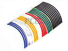 "10"" Car Bike Motorcycle Rim Stripe Wheel Tape Decal Sticker M DE55"