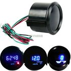 "K0E1 Car 2"" 52mm Digital LED Water Temperature/Motormeter Volt Gauge/Tachometer"
