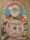 Personalised Christmas Message from Santa on CD - Names A to Z