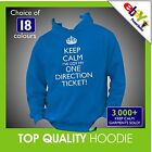 KEEP CALM I'VE GOT MY ONE DIRECTION TICKET Hoodie Hoody (style of Listen to 1D)