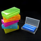 Portable carry portable Battery Cell Holder Box Case plastic for 17650 18650 LOT