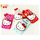 HELLO KITTY Silicon Phone Case For Samsung Galaxy S3 S4 Note2 Note3