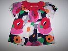 NWT GYMBOREE BRIGHTEST IN CLASS FLORAL TOP SIZE 8 AND 10 AVAILABLE