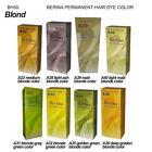 BERINA Permanent Hair Color Dye Colour Fasion Various Color Gold Blond Shade