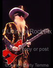 Billy Gibbons Photo ZZ Top 11x14 Large Size Concert Photo 2003 by Marty Temme 3