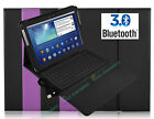 Wireless Keyboard Stand Bluethooth Leather Case Cover for Samsung Galaxy Tab 2