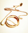 Lord Of The Rings - One Ring To Rule Them All - Ring & Necklace - Rose Gold