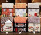 fashion Mini dream Vintage House Tinplate Storage Tin Box Coin Bag Jewelry Box