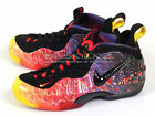 Nike Air Foamposite Pro PRM Asteroid Basketball Sneakers Fire/Black 616750-600