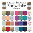 Sirdar Snuggly Snowflake Chunky 25g Knitting Wool Yarn - ALL COLOURS