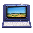 "8GB iRulu 7"" Tablet Google Android 4.2.2 Jelly Bean Dual Camera Bundle Keyboard"