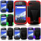 For For ZTE Valet Z665C Fury Director N850 T-STAND Tuff Impact Cover Case
