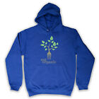 EAT ORGANIC HEALTHY EATING CLEAN LIVING UNISEX MENS LADIES HOODED TOP HOODIE