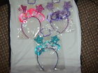 3 Glitter Star Headbands for girls.New in sealed bag.Guaranteed delivery