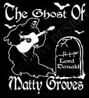 Matty Groves Inspired T-Shirt The Ghost Fairport Convention Joan Baez Folk Music