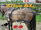 Horse Harness Carriage Driving Small Pony Shetland Size Strong Quality Zilco SL