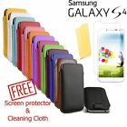 Samsung Galaxy S4 Pull Tab PU Leather Pouch Case Cover i9500 SIV Sleeve