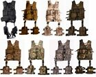 MOLLE 10 PIECE DELUXE TACTICAL MODULAR WEB ASSAULT VEST WITH HOLSTER & POUCH SET