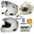 VIPER RS-V131 BLUETOOTH4 DVS Flip Up Motorbike Motorcycle Helmet ACU GOLD White