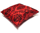 New Decorative Decor Throw Sofa Pillow Case Cushion Cover Velvet Flock 17
