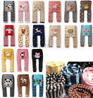 HOT Fashion Baby Cute Toddler Animal Leggings Warm Tights  Pants ABCDEF 6 Size
