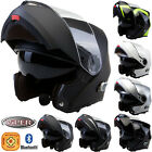VIPER RS-V151 Bluetooth Blinc Flip Up Front Motorbike Motorcycle Helmet ACU GOLD