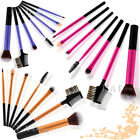 7PCS Makeup Brushes Set Eyeshadow Eyebrow Blush Lip Brush Mascara Cosmetic Tools
