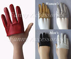 Four 4 Finger Half Hand Men Women Runway Party Club Punk Rock Funky Gloves