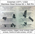 Crosman 1322 1377 Stainless Steel Torx Screw Upgrade Kit Rebolt Set