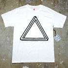 Mens Optical Illusion Triangle Pyramid Urban Street Hipster Graphic T Shirt New