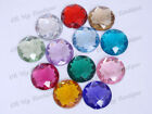 120pcs 18mm Flatback Rhinestone Gem Bead 13 Color 1259B