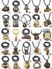 ROCK Good Quality KINGS Pendants hip hop Wood Rosary Beads Chains Necklaces XL02